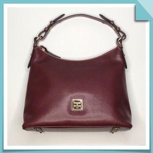 Dooney & Bourke Hobo Bag Saffiano Leather Bordeaux